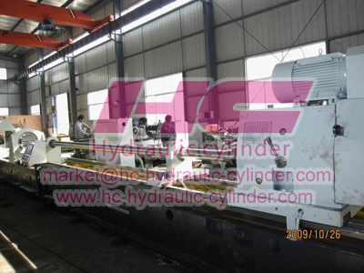Hydraulic cylinder manufacturing machines 19