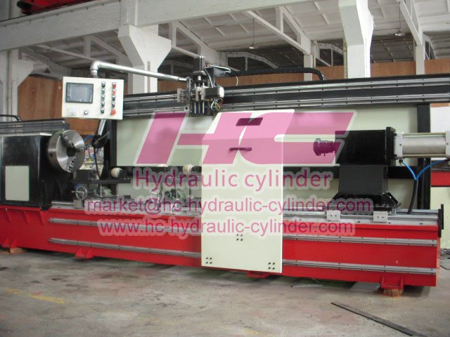Hydraulic cylinder manufacturing machines 21