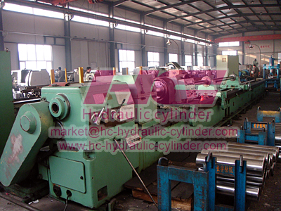 Hydraulic cylinder manufacturing machines 3
