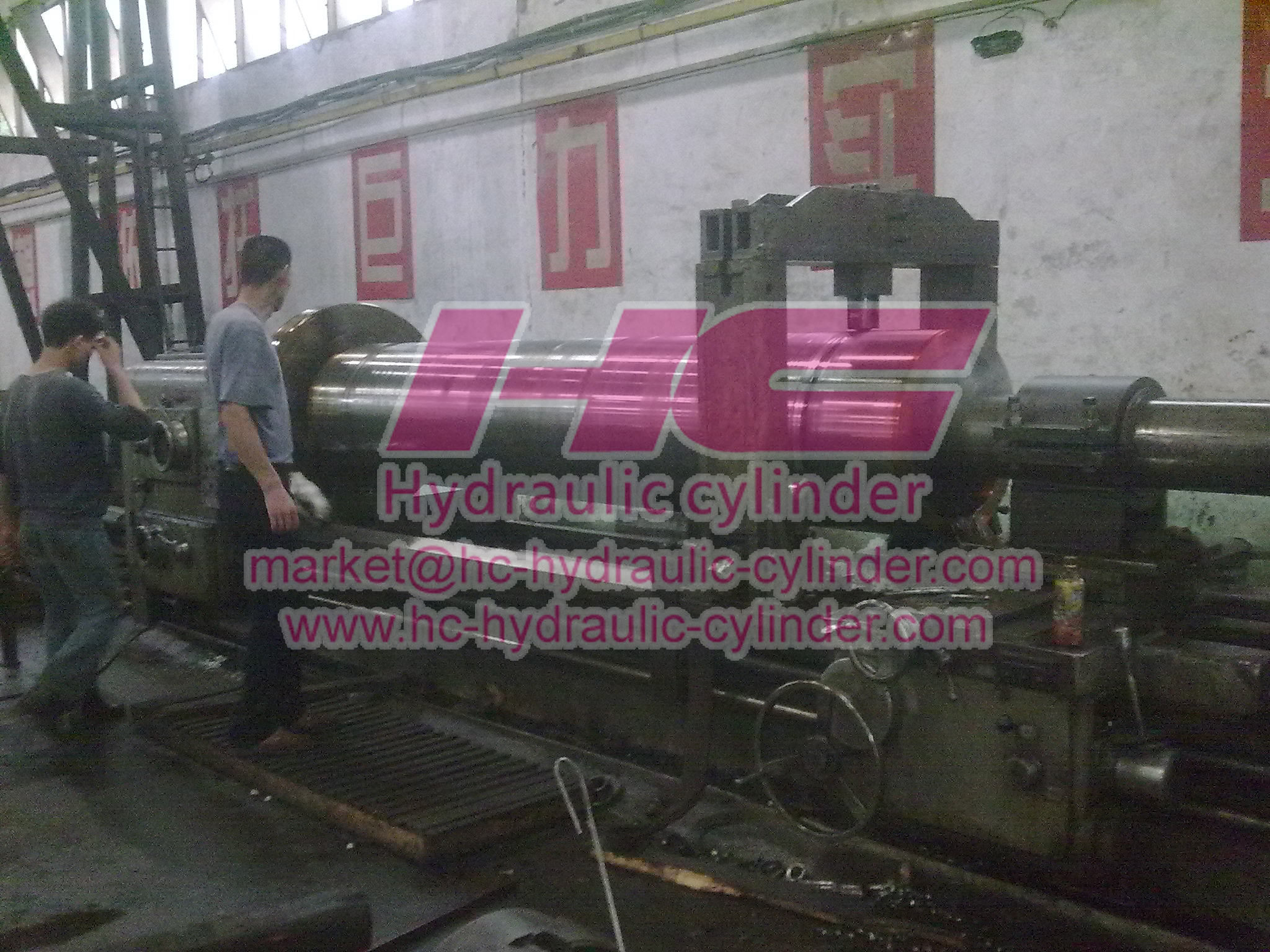 Hydraulic cylinder manufacturing machines 4